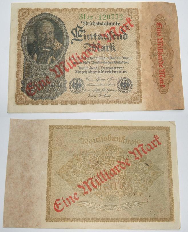 German-1923-Weimar-Republic-Hyper-Inflation--One-Billion-Mark-Note